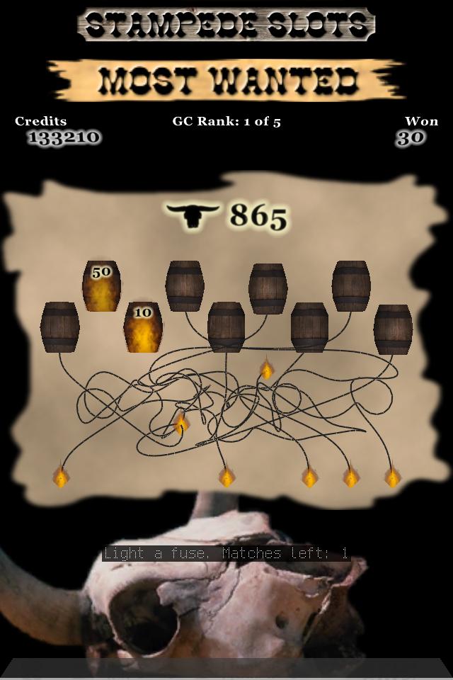 Screenshot Stampede Slots: Most Wanted w/iAd