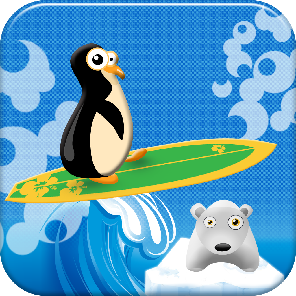 Penguin Surfer - Free Surfing Game